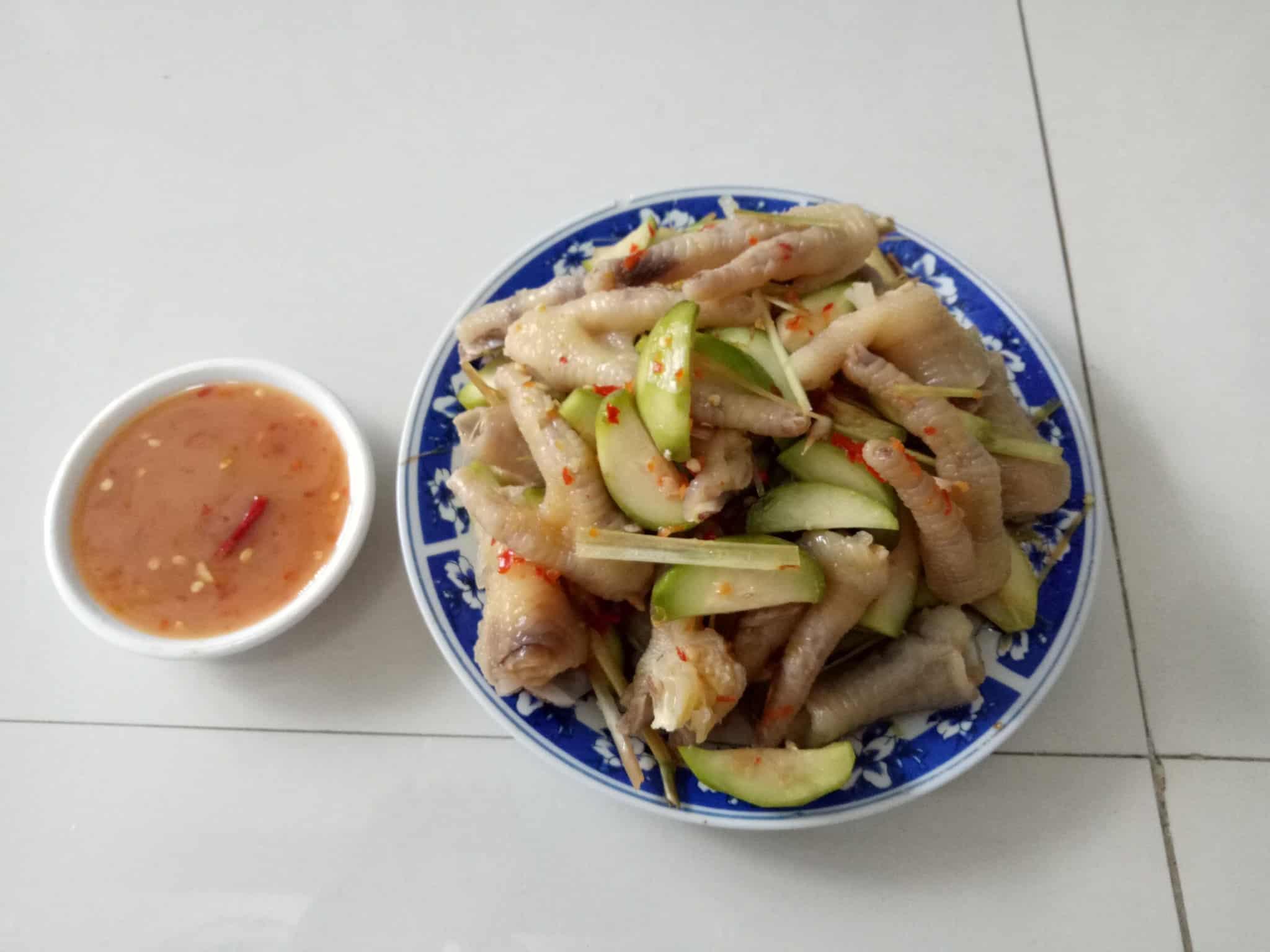 Chân Gà Sả Ớt Tại Đà Nẵng